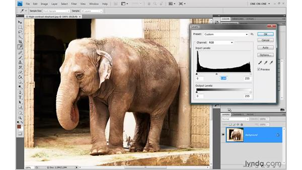 When levels fail: Photoshop CS4 One-on-One: Advanced