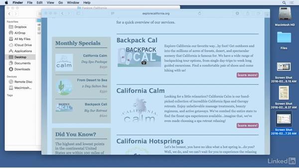 Screen grabs: Mac OS X El Capitan Tips and Tricks