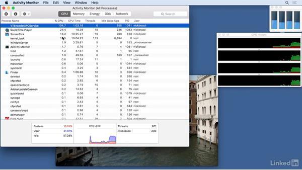 Use the Activity Monitor: Mac OS X El Capitan Tips and Tricks