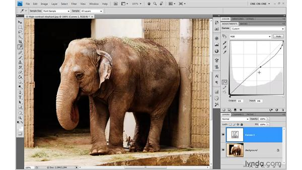 Correcting the composite image: Photoshop CS4 One-on-One: Advanced