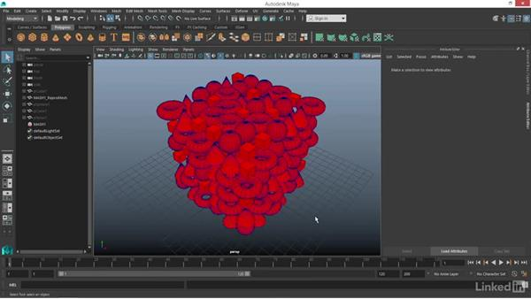 MASH: Color node: Maya: Motion Graphics Workflow with MASH