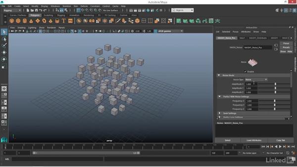 MASH: Trails node: Maya: Motion Graphics Workflow with MASH