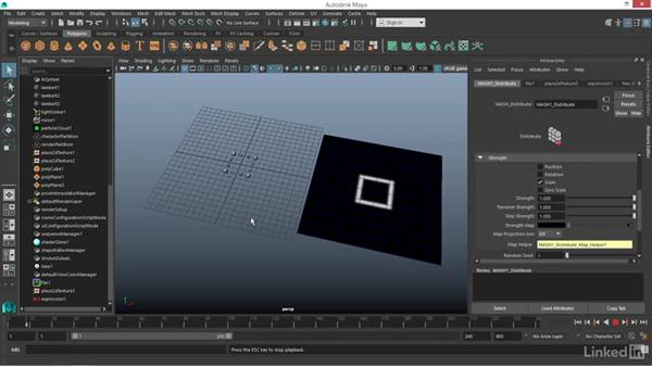 How to control MASH with file textures: Maya: Motion Graphics Workflow with MASH