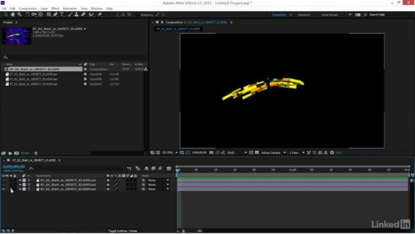 How to import renders into After Effects: Maya: Motion Graphics Workflow with MASH