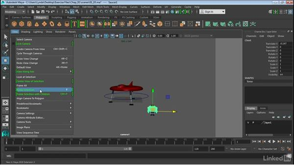 New camera tools: Maya 2016 Extension 2 New Features