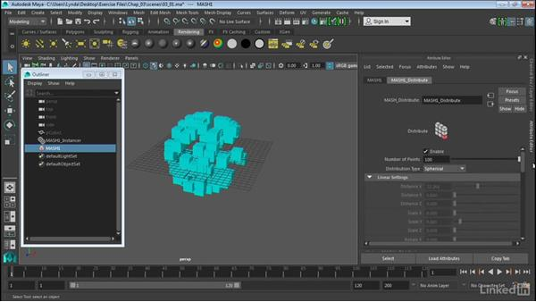 Introduction to MASH networks: Maya 2016 Extension 2 New Features