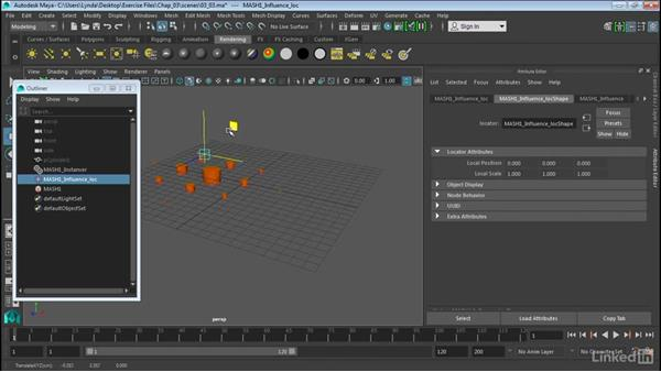 Influence objects: Maya 2016 Extension 2 New Features