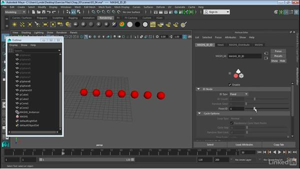 Add multiple objects using ID: Maya 2016 Extension 2 New Features