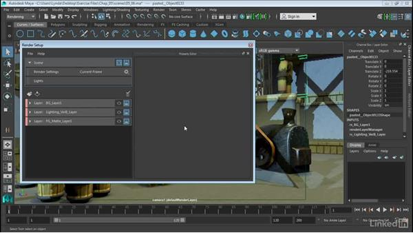Render Render Setup layers: Maya 2016 Extension 2 New Features