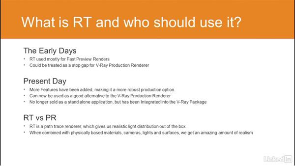 What is V-Ray RT and who should use it?: Using Vray RT in Production Rendering