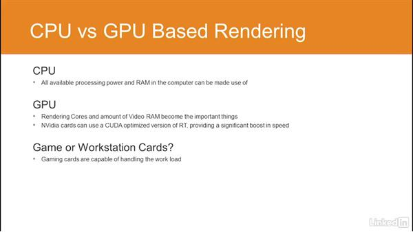 CPU- vs. GPU-based rendering: Using Vray RT in Production Rendering