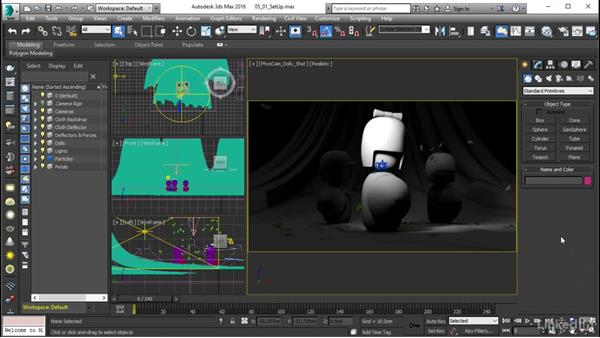 Texturing setup: Using Vray RT in Production Rendering