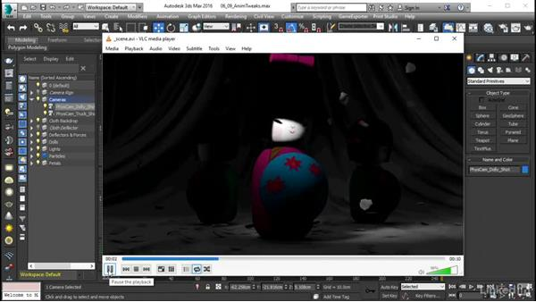 Animation tweaks: Using Vray RT in Production Rendering