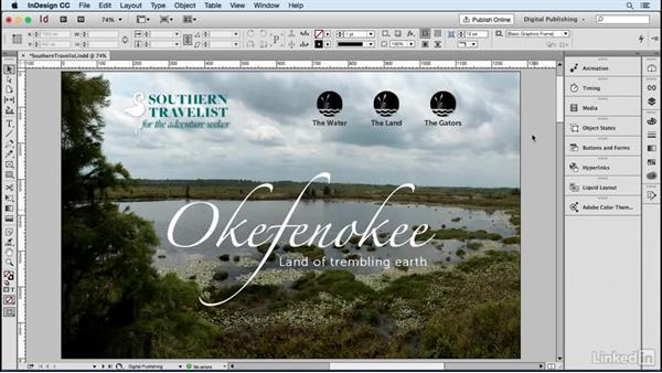 Publish your document: Upload the document: Publish Online with InDesign