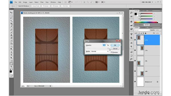 Fading after an undo: Photoshop CS4 One-on-One: Advanced