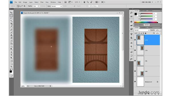 "The ""bell-shaped"" Gaussian Blur: Photoshop CS4 One-on-One: Advanced"