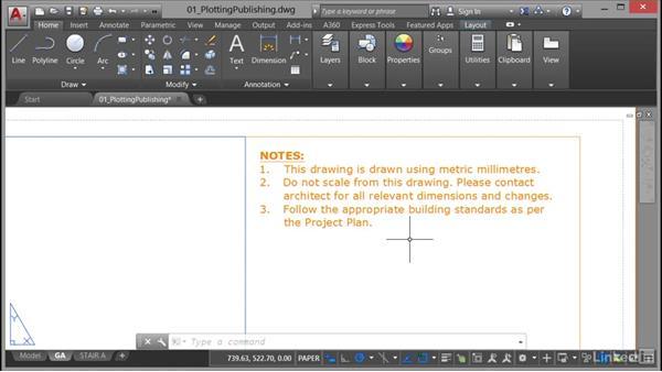 Printing and plotting: AutoCAD: Plotting & Publishing