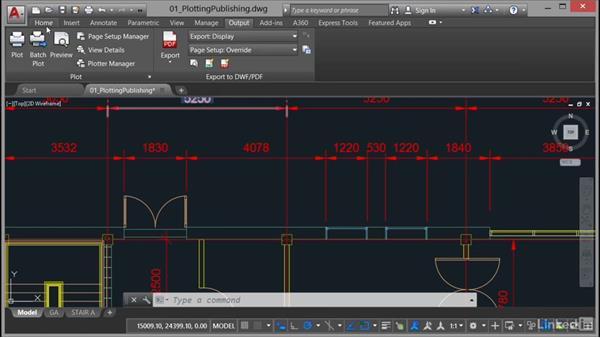 Scaling: AutoCAD: Plotting & Publishing