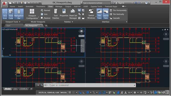 Viewports: Model: AutoCAD: Plotting & Publishing