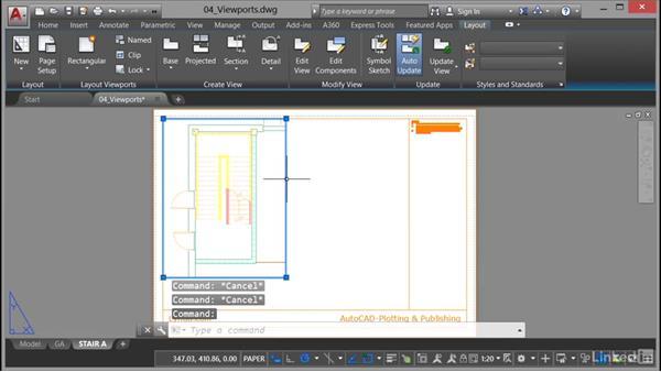 Viewports: Layout: AutoCAD: Plotting & Publishing