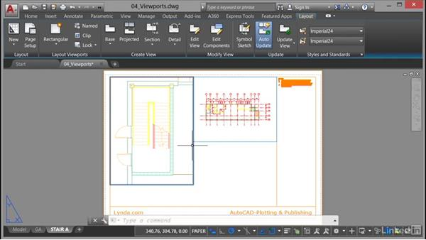 Polygonal viewports: AutoCAD: Plotting & Publishing