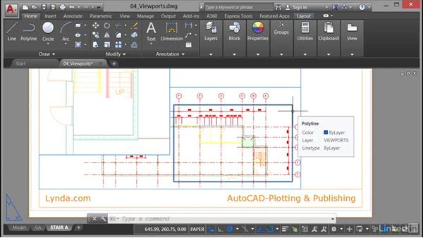 Clipping viewports: AutoCAD: Plotting & Publishing