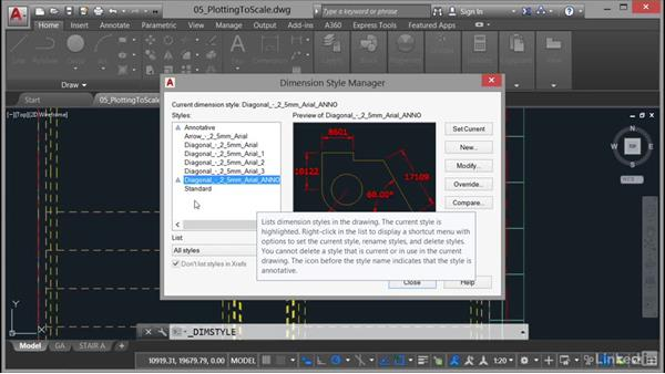 Viewport scale and annotation scale: AutoCAD: Plotting & Publishing