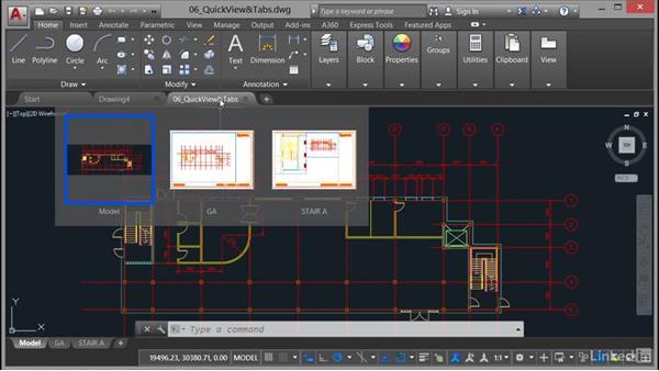 Quick View layouts: AutoCAD: Plotting & Publishing