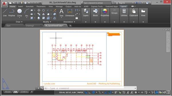 Plotting and publishing from Quick View: AutoCAD: Plotting & Publishing