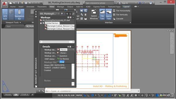 Markup Set Manager: AutoCAD: Plotting & Publishing