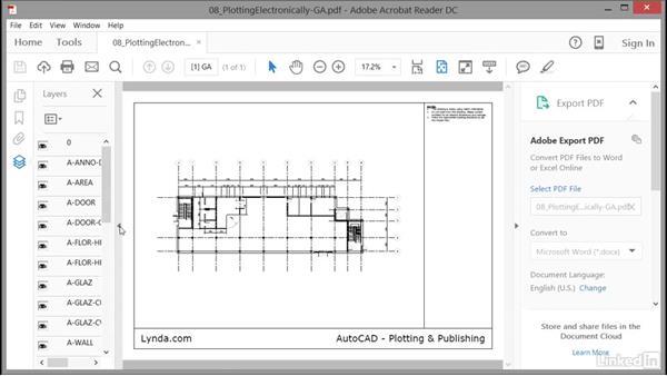 Viewing PDF files: AutoCAD: Plotting & Publishing