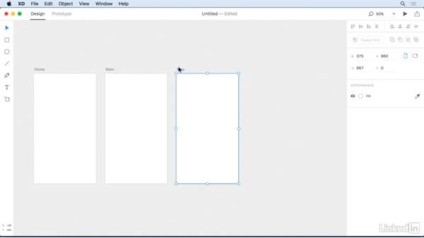 Rearranging, renaming, and deleting artboards: Adobe Experience Design CC: First Look