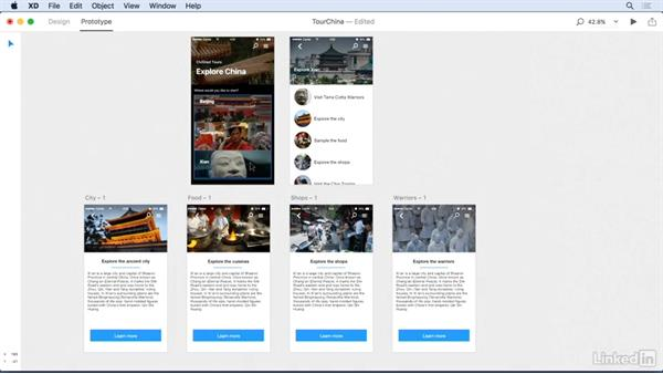 Sharing Experience Design projects: Adobe Experience Design CC: First Look