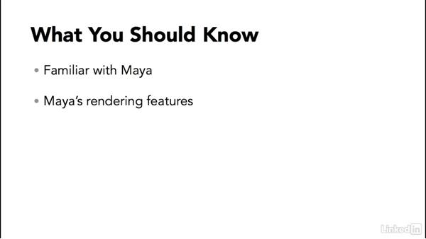 What you should know: Maya: Render Setup System