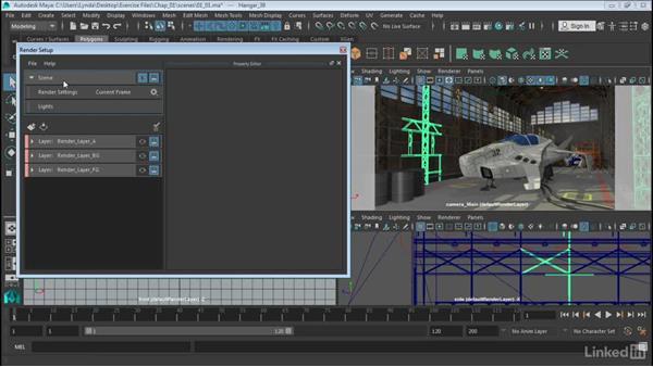 The Render Setup window: Maya: Render Setup System
