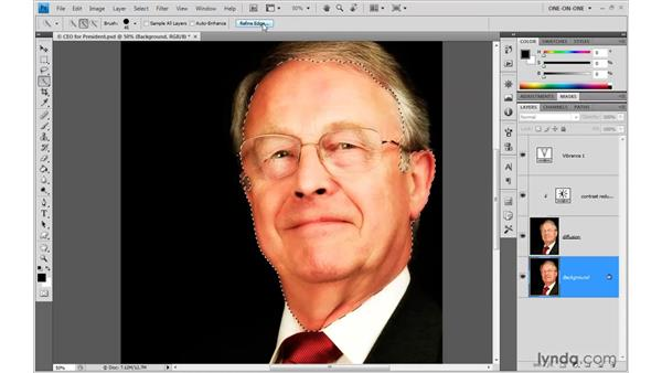 Combining Gaussian Blur and Average: Photoshop CS4 One-on-One: Advanced