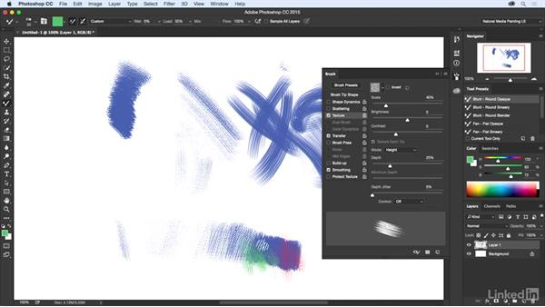 Texture: Natural-Media Painting in Photoshop