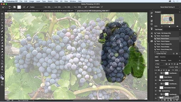 Cloner brush techniques: Natural-Media Painting in Photoshop