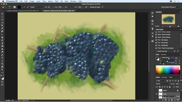 Final touches: Natural-Media Painting in Photoshop