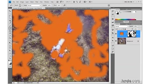 Brushing and blending color: Photoshop CS4 One-on-One: Advanced