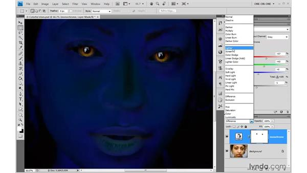 Working with Opacity and blend modes: Photoshop CS4 One-on-One: Advanced