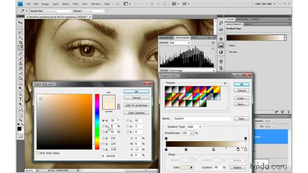 Adjusting both color and luminance: Photoshop CS4 One-on-One: Advanced