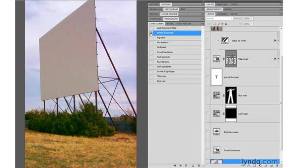 Adjustment layers as creative tools: Photoshop CS4 One-on-One: Advanced