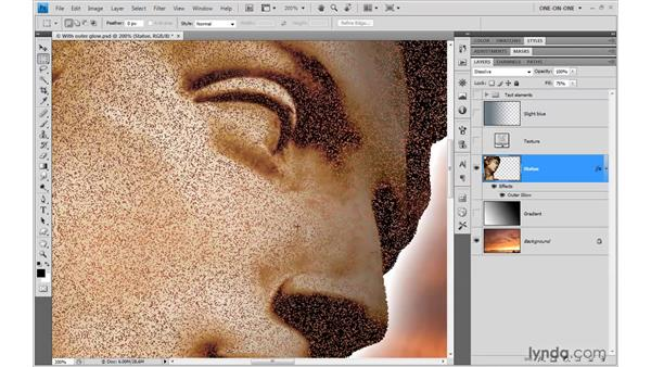 Meet the blend modes: Photoshop CS4 One-on-One: Advanced