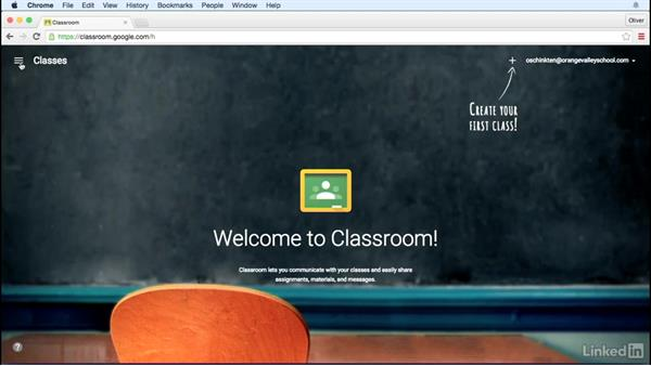 Create an account and sign in: Learn Google Classroom 2016