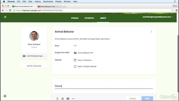 Add a class resource page: Learn Google Classroom 2016
