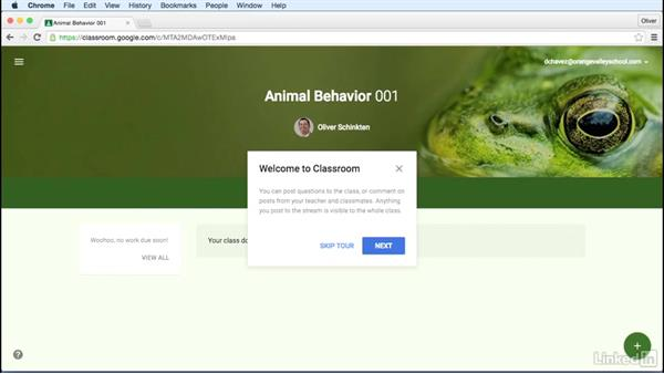 Add or remove students: Learn Google Classroom 2016