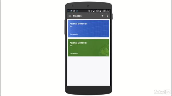 Use the Classroom mobile app: Learn Google Classroom 2016