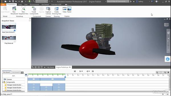 Publish a presentation: Autodesk Inventor: Presentations