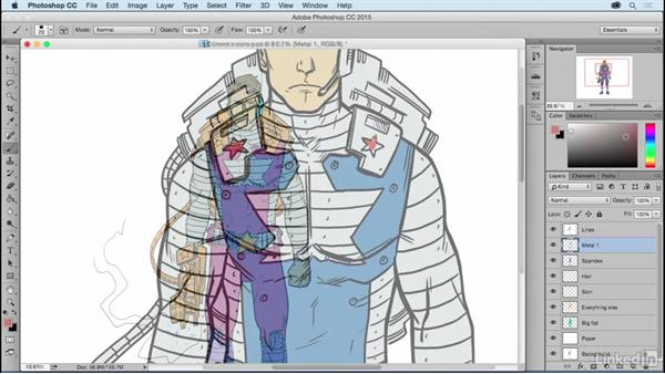 Welcome: Photoshop: Coloring Comic Book Characters